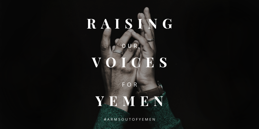 RAISING OUR VOICES FOR YEMEN