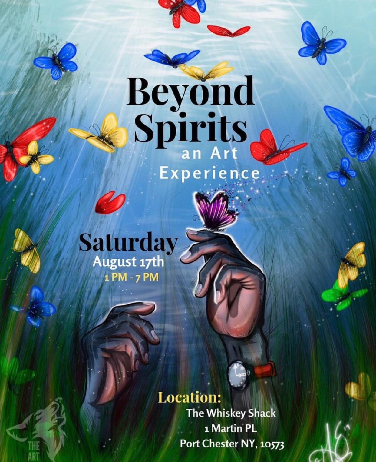 BEYOND SPIRITS: THE ART EXPERIENCE